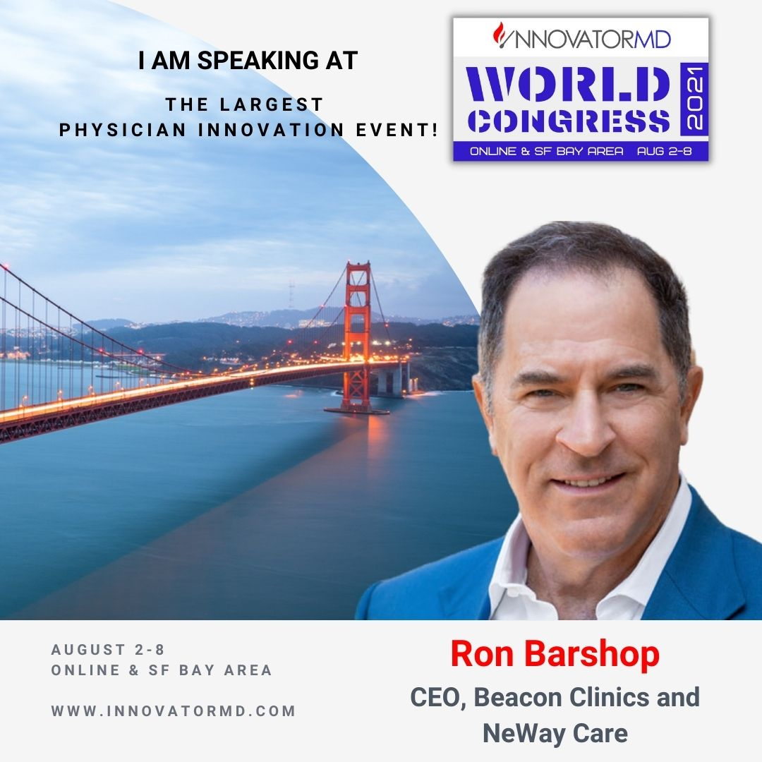 Ron Barshop  - InnovatorMD 2021